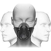 JAYLONG - Máscara de entrenamiento de alta altitud, para gimnasio, cardio, fitness, correr, resistencia y entrenamiento HIIT [16 niveles de respiración], negro