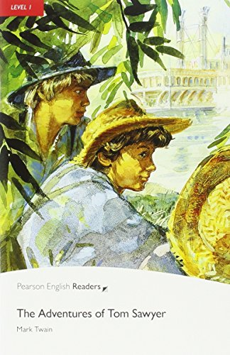 penguin-readers-1-adventures-of-tom-sawyer-the-book-cd-pack-level-1-pearson-english-graded-readers