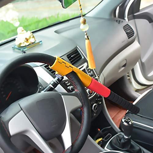 Preisvergleich Produktbild Xljh Kfz-LenkradSchloss Anti-Diebstahl Selbstverteidigung Lenker SicherheitsKupplung SchlösserAutolenkradschloss Baseballschloss