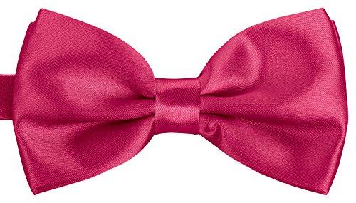 BomGuard Fliege Schleife verstellbar Unisex in Pink
