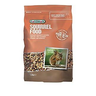 Gardman The Ernest Charles AE10002 1.3 kg Squirrel Food Gardman The Ernest Charles AE10002 1.3 kg Squirrel Food 51sh9AZJVvL