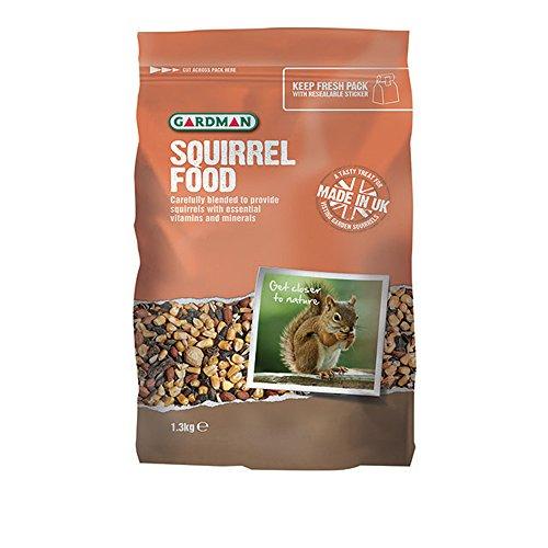 Gardman A10002 1.3 kg Squirrel Food Test