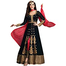 Jay Sarees Traditional Ethnic Casual Salwar Suit Anarkali Unstitched ,  Jccat3025,1404