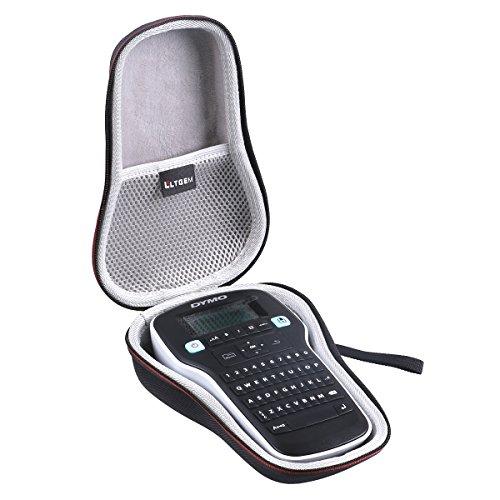 LTGEM EVA Hard Case Travel Carrying Pouch Cover Storage Bag for Dymo LM Labelmanager 160 German / 280 English Layout, Handheld use Label Maker