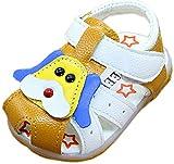Jimall Kleinkinder Baby Leder Sandalen Jungen Lauflernschuhe