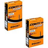 2 x Continental Bike Inner Tube Race 28 700 20 25 Presta 42mm cycle valve