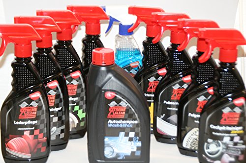 Preisvergleich Produktbild Auto Pflege - POWER SET- 10 Flaschen Aussen - und Innenreinigung a 500 ml - Auto, Motorrad, Gartenmöbel, Wohnwagen etc. Grundpreis je Liter = 6,09€