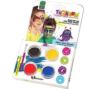 Carnival Toys - Kit de Maquillaje al Agua Profesional de Mariposa, con Pincel en Caja, (7382)
