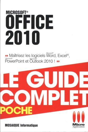 Office 2010 par Mosaïque Informatique