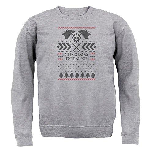 GOT Jumper - Unisex Pullover/Sweatshirt - Grau meliert - XXL