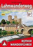 Lahnwanderweg: Von der Quelle bis zum Rhein. 17 Etappen. Mit GPS-Tracks. (Rother Wanderführer) - Thorsten Lensing