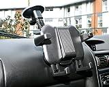 Duragadget Support voiture 2 en 1 d'appuie-tête et pare-brise - ajustable - pour...