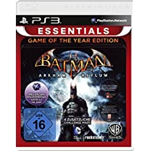 Batman: Arkham Asylum Game of the Year Edition PS3