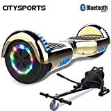 CITYSPORTS Hoverboard 6.5 Pouces, Self Balance Scotter Electrique, Roues LED Light, Bluetooth,...