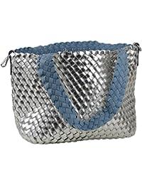 a486bf6104476 yourlifeyourstyle Wendetaschen - Bag in Bag - geflochtene Schultertasche  mit zusätzlicher Innentasche Umhängetasche…