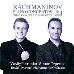Rhapsody on a Theme of Pagnini in A Minor , Op. 43: Variation. No. 20, Un poco pi� vivo