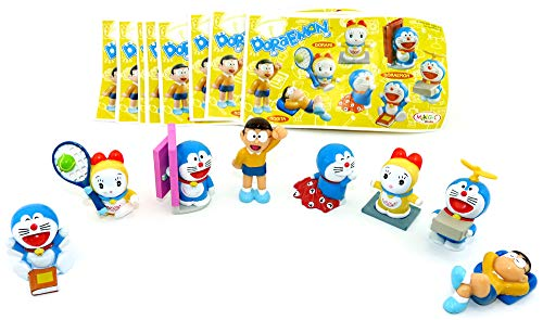 Kinder Überraschung Set of figures Surprise for children Doraemon with All the brochures of the Series (Sätze Europa).