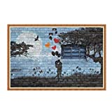 MCYs 5D DIY Diamond Painting Lover point drill Embroidery Cross Craft Stitch Home Decor Art (Colour A)