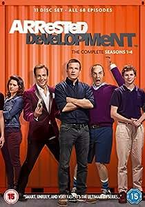 Arrested Development - Season 1-4 [DVD] [2014]