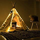 LED String Lights for Tipi Tents, 4 x Fairy Strings Garland Lights Luminosa Lampadina a Stringa LED Appesi Tenda Luci Decorazione per Natale alberi, Teepee Tent