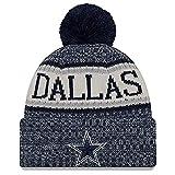 New Era American Football Dallas Cowboys NFL Teamsport Winter Strickmütze Unisex Beanie Mütze