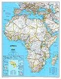 Carte politique de l'Afrique , 92x117...