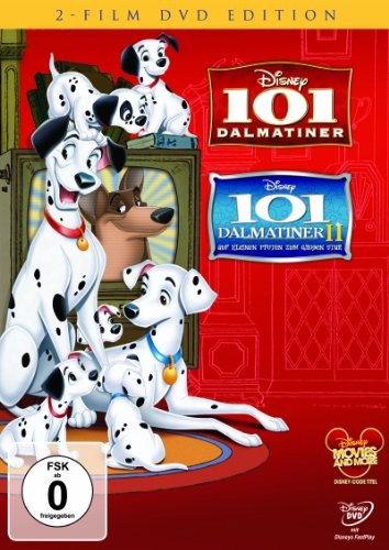 101 Dalmatiner / 101 Dalmatiner II: Auf kleinen Pfoten zum großen Star! [2 DVDs] (Modellierung Dvd)