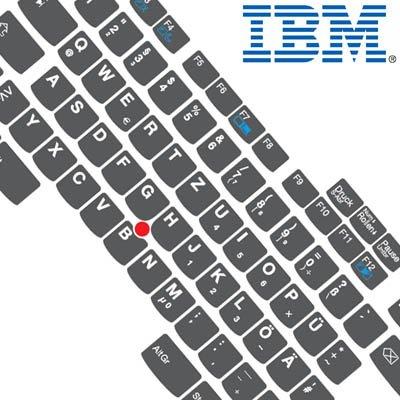 R40-tastatur (Tastaturaufkleber DEUTSCH speziell für IBM A, T u. R Serie)