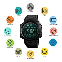 Skmei Sport Watch For Men Digital PU Leather - 1301
