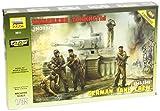 Zvezda 500783614 - 1:35 WWII Figuren-Set Deutsche Panzer-Besatzung