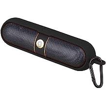 iProtect pochette de protection en silicone avec mousqueton pour enceinte Beats by Dr. Dre Pill - noir