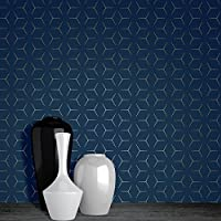 Amazon Fr Papier Peint Geometrique Bricolage