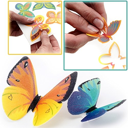 Dekor-Schmetterlinge-aus-Oblate-ca-6cm-6er-Set