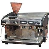 Reconditioned expobar Elegance 2Grupo comerciales máquina de espresso con molinillo integrado