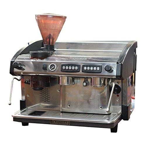 aufbereitet expobar Eleganz 2Gruppe Kommerzielle Espresso Maschine mit integriertem Mahlwerk - Kommerzielle Espresso-maschine