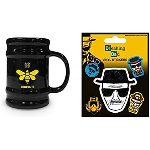 Set: Breaking Bad, Golden Moth, Barrel Mug Tazza Da Caffè