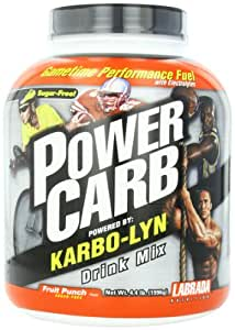 Labrada Power Carb Drink Mix - Powered by Karbo-Lyn Fruit Punch 4.4 lbs