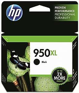 HP 950XL Schwarz Original Druckerpatrone mit hoher Reichweite für HP Officejet Pro