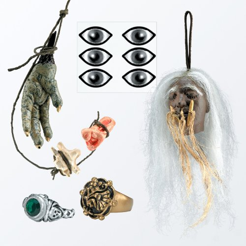 Disguise 145391 Fluch der Karibik-Captain Jack Sparrow Voodoo Accessory Kit