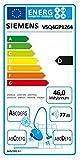 Siemens VSQ4GP1264 Q 4.0 Bodenstaubsauger EEK D (green power allergy, 5 L Staubbeutelvolumen, inklusive umfangreichem Zubehör) schwarz -