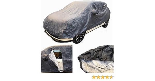 PER FIAT 500L Living 1.6 MJT 120 CV Lounge TELO COPRIAUTO FELPATO IMPERMEABILE ANTIGRAFFIO TG L 482X196X120CM COPERTURA PER AUTO UNIVERSALE