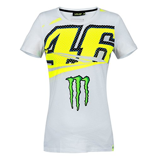 Valentino Rossi VR46 Moto GP Monster Energy Monza Damen T-shirt Offiziell 2018 (Monster Energy T-shirts)