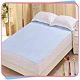 Rite Clique Waterproof Double Bed Mattress Protector Sheet With Elastic Straps L