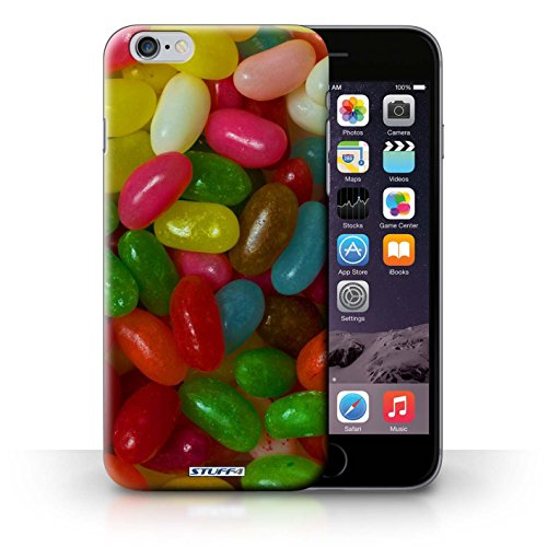 Kobalt® Imprimé Etui / Coque pour iPhone 6+/Plus 5.5 / Smarties conception / Série Bonbons Jelly Beans