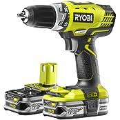 Ryobi RCD18022L Akku-Bohrschrauber inkl. Tasche + 2 Akkus 1.5Ah (5133001929)