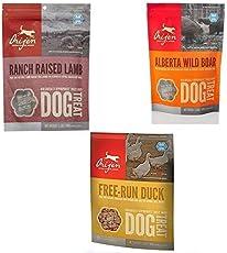 Orijen Dog Treats Combo Pack 3-3.5oz by Orijen