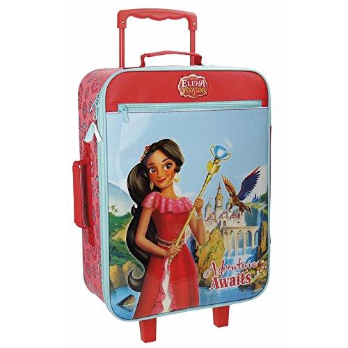 Disney Elena De Avalor Adventure Valigia per bambini, 50 cm, 25 liters, Multicolore (Varios Colores)