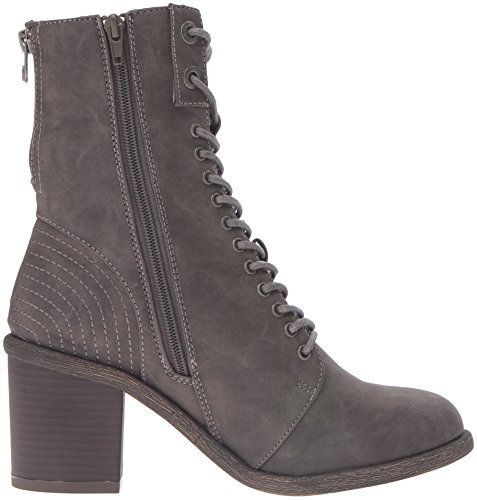 Blowfish Mammer Damen Rund Kunstleder Mode Mitte Calf Stiefel Grey Texas