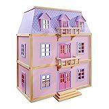 Melissa & Doug - Casa de muñecas de Madera de Varios Pisos (14570)