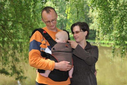 Babytrage Manduca 222-02-42-000, rot - 15